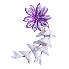 Flower hair clips for Japanese kimono, Flower77