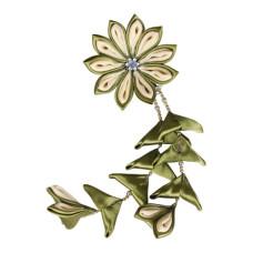 Flower hair clips for Japanese kimono, Flower85