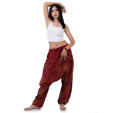 Hippie Harem Jeans Red FAPP866