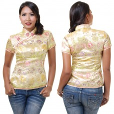 Gold Traditional Chinese Top QLGY12