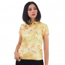 Gold Traditional Chinese Top QLGY14