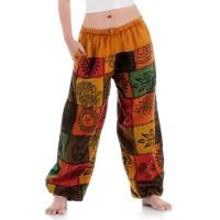Patchwork Genie Pants, Harem Pants FAB664