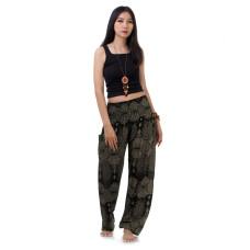 Black Harem Pants Genie Pants FAB710