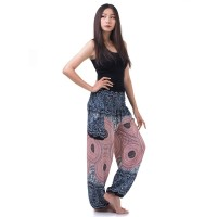 Blue Pink Harem Pants Genie Pants FAB738