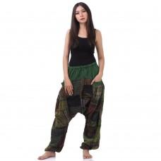 Hippie Harem Jeans Green tone FAPP874