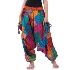 Harem Patchwork Genie Aladin Pants FAS566