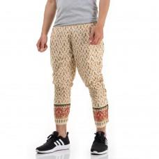 Traditional Thai Pattern Harem Pants, Thai Costume for Men THAI5Men