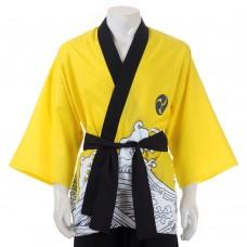 Happi Kimono, Japanese kimono, Japanese costume, Japanese traditional costume