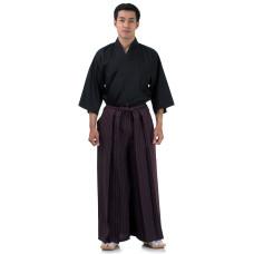 Kendo Samurai Costume Claret red -Black HK86