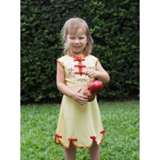 Qipao Chinese Dress for Girl QCkid2