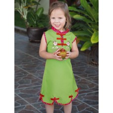 Qipao Chinese Dress for Girl QCkid5