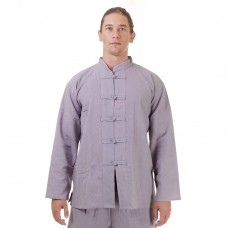 Kung Fu Tai Chi Shirt Cotton Grey