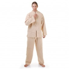 Kung Fu Suit, Meditation Suit Cotton Beige