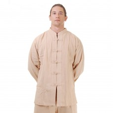 Kung Fu Tai Chi Shirt Cotton Beige