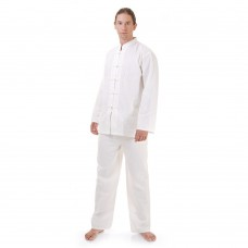 Kung Fu Suit, Meditation Suit Cotton White