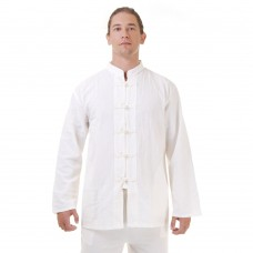 Kung Fu Tai Chi Shirt Cotton White