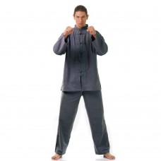 Kung Fu Suit, Meditation Suit Cotton Grey