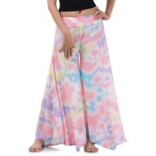 Batik Tie Dye Skirt pants, open leg pants Bohemian style RBB6B