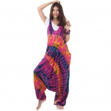 Pink Batik Jumpsuit Overall RDP187