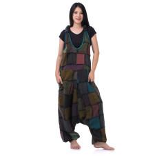 Hippie Jeans Patchwork Jumpsuit Overalls RDP437
