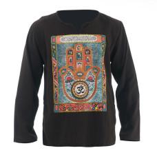 Hippie Casual Long Sleeve Shirt