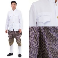Traditional Thai Dress Thai Costume For Men THAI127new
