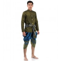 Traditional Thai Dress Thai Costume For Men THAI203-L, XL