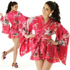 Pink Sexy Geisha Lolita Kimono XKS61
