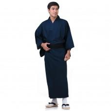 Blue Japanese Men's Yukata Kimono XKM132