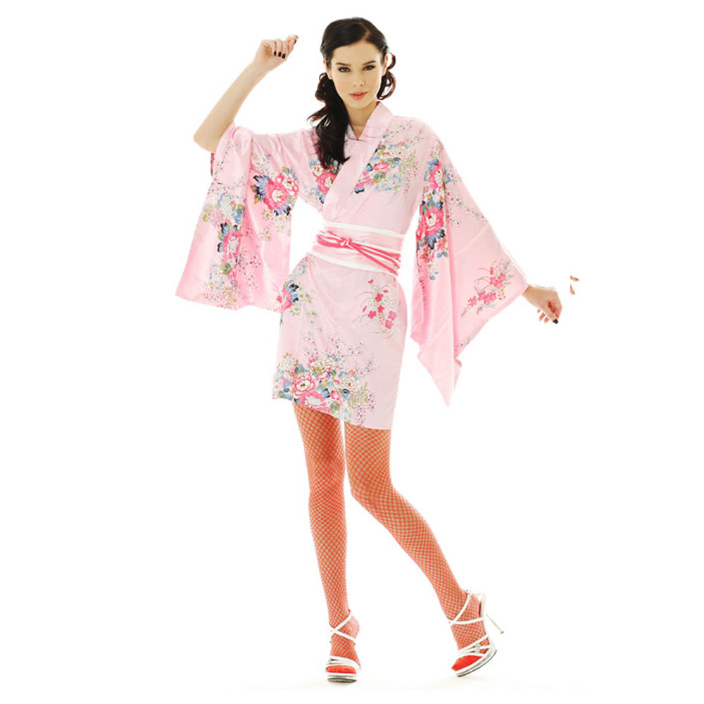 Sexy Short Kimono